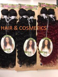 "Sleek 101 Classic Brazilian Hair IVORY Weave 18""-Sythentic Tongable-Free UK Post"