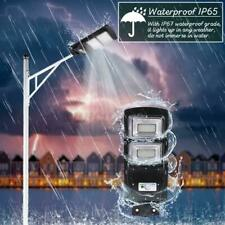 180W 180000LM LED Solar Street Light PIR Motion Sensor Outdoor Wall  F