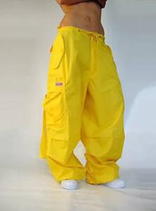Ufohose Wind Pant 82955 Girly Tanzhose, Street Hip Hop Hose - Farbe gelb NEU