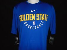 Nike Dry Golden State Warriors SS Practice Shirt Size LT