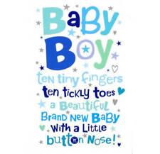 Baby Boy - Birth Card New Baby
