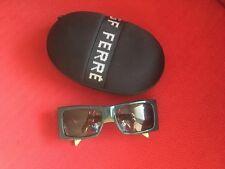 Gianfranco GF Ferre FF56803 ITALY Logo Green Glasses Sunglasses  & Case
