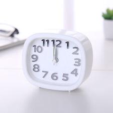 Rectangle Small Bed Compact Travel Quartz Beep Alarm Clock Cute Portable  VA