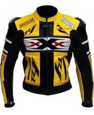 XXX Monster Motorcycle Racing Biker Leather Jacket Multi Color Special Offer
