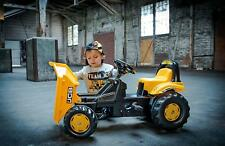 KIDS CHILDRENS KIDTRAX PEDAL RIDE ON CAT JCB DIGGER TRACTOR TOY FREE UK P&P
