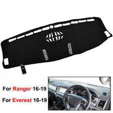 Xukey DashMat Dash Mat Dashboard Cover For Ford Everest Ranger 2016 2017 2018