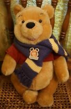 Pooh Gund Disney Convention Exclusive Bear 1997 Genuine Mohair W/ Vest & Scarf