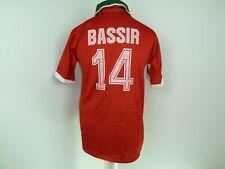 morocco football shirt Bassir 14 Medium Jersey maglia indossata maillot porté