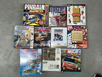 Lot of Ten (10) Rare Sports Big Box PC Games - New and Used