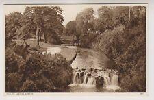 Derbyshire postcard - Pavilion Gardens, Buxton