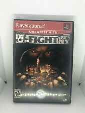 Def Jam Fight for NY Sony PlayStation 2 PS2 W/ Case Tested Fast Ship