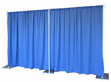 QUICK BACKDROP KIT 12 FT TALL x 24 FT WIDE PIPE AND DRAPE (ROYAL PREMIER DRAPES)