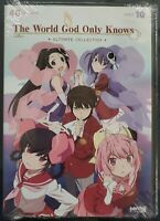 The World God Only Knows Ultimate Collection DVD Complete Series 10-Disc Set