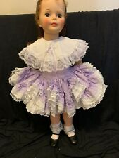 "Dress For Ideal Patti Playpal/ Pageant Dress Fits 35� Doll ""No Doll"""