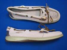 9 M Sperry Top-Siders Ladies Women Dock Boat Shoes Gold Bronze Angelfish 9102807