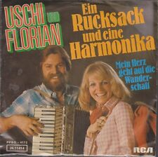 """7"""" Uschi und Florian Ein Rucksack und eine Harmonika 70`s RCA"""