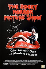 Susan Sarandon Autographed Rocky Horror Tim Curry 11x17 Movie Poster Asi Proof