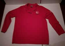 Radio Shack Ladies size medium HPI Direct long sleeved polo shirt pre owned