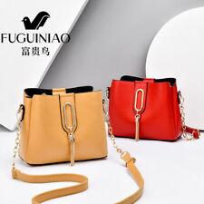 Women Lady Leather Handbag Tote Shoulder Bags Crossbody Satchel Messenger Bucket