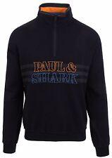 PAUL & SHARK YACHTING Pullover Sweater Troyer Größe L Reine Schurwolle Navy Blau