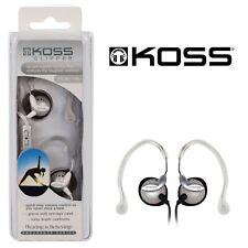 Koss Earphones Headphones Sport Earbuds Ear Hook Sweatproof Stereo Extra Bass