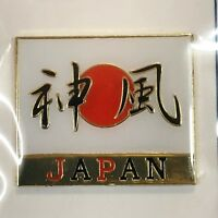 F/S Japanese Divine Wind KAMIKAZE Metal Fridge Magnet Kyoto Japan