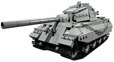 CUSTOM building INSTRUCTION for WW2 KING TIGER TANK to build out of LEGO® parts