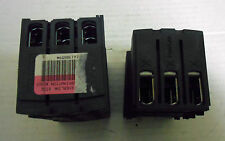 9 PIECES NEW, SQD LAD96560 EVERLINK SIZE 3 POWER TERMINATION BLOCK