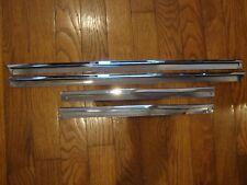 (6107) Jaguar 4.2  XKE Series  1,2 SWB Upper Door Chrome Kit