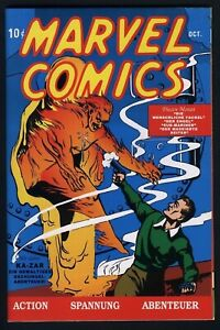 German Variant, Aug. 1999: Marvel Mystery Comics #1 (1939)! CLASSIC MARVEL BOOK!