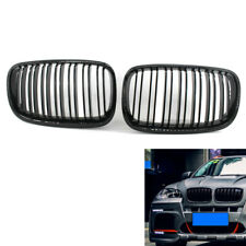 Gloss Black X5M style Front Hood Bonnet Kidney Grill Grille for BMW X5 E70 07-13