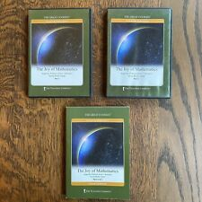 Great Courses Joy of Mathematics 4 DVDs with Guidebook