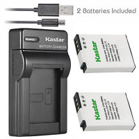 EN-EL12 Battery or Slim Dual Charger for Nikon Coolpix S6200 S6300 S8000 S8100