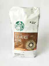 Starbucks Coffee Cafe Breakfast Blend 1.13kg Whole Bean Sweet Soft Beverages i_g