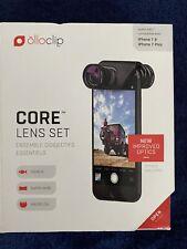 OLLOCLIP Core Lens Set Fish-Eye-Wide Angle-Macro iPhone 7/7 Plus 8/8 Plus