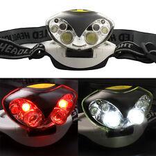 6 LED 1200 Lumens Lights 3 Modes Headlamp Headlight Flashlights Head Lamps Light