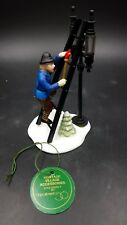 Dept 56 Heritage Village Collection Accessory Set Lamplighter Mib