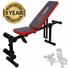 PIEGHEVOLE PIATTO INCLINATO Fitness Esercizio AB BENCH Home Gym Workout peso Dumbbell