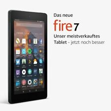 amazon Fire 7 8GB Android-Tablet 17.8 cm 7 Zoll Wi-Fi Schwarz 1.3 GHz Quad NEU