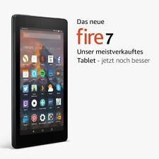 amazon Fire 7 16GB Android-Tablet 17.8 cm 7 Zoll Wi-Fi Schwarz 1.3 GHz Quad NEU