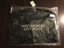 Supreme Undercover Generation F*ck You Sweater FW16 Black Sz XL
