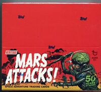 Mars Attacks Topps Heritage Retail Card Box