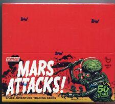 Mars Attacks Topps Heritage Retail Card Box