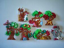 KINDER SURPRISE SET - 3D PUZZLE MAGIC FOREST TREES 1997 - TOYS COLLECTIBLES