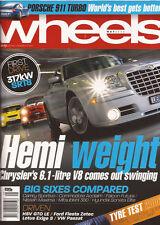 Wheels May 06 SRT8 HSV GT Exige S Passat Maxima Acclaim Futura Porsche Cayenne