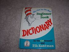 THE CAT IN THE HAT Beginner Book DICTIONARY/HC/Childrens/Illustrated