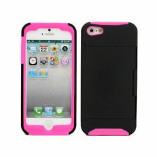 Rigid Plastic Matte Mobile Phone Cases, Covers & Skins with Card Pocket