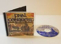 Final Conquest for Age of Empires PC CD-Rom 1998 strategy game new content addon