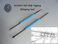 Model ship rigging belaying tools ancient  wooden model ship MODEL DIY TOOLS