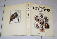 Julian Symons I GRANDI DETECTIVES Illustrazioni Tom Adams 1981 Poirot Maigret